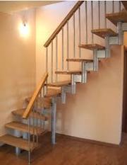 меж этажные модульные лестницы