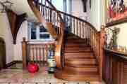 Деревянные лестницы от производителя на заказ